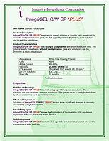O/W SP Plus Emulsifier
