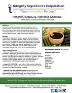 IntegriBOTANICAL Activated Charcoal flye
