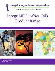 IntegriLIPID Africa Oil Brochure January