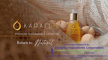 Kahai (Cacay) Oil Product Brochure June