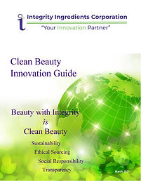 Clean Beauty Innovation Guide March 2021