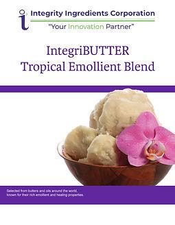 IntegriBUTTER Tropical Emollient Blend B