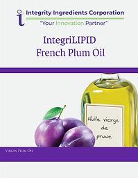 IntegriLIPID French Plum Oil Brochure Ja