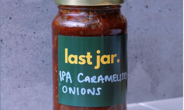 Last Jar IPA Caramelised onions 400g