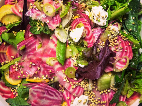 Tomtits Fennel Beet & Feta Salad