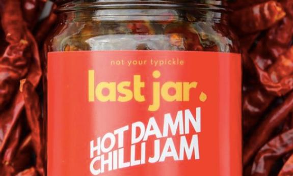 Last Jar - Hot Damn Chilli Jam (200g)