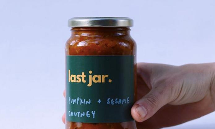 Last Jar Pumpkin & Sesame Chutney 400g