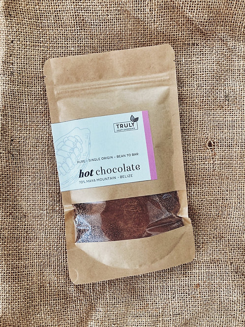 Heiße Trinkschokolade - Single Origin Maya Mountain