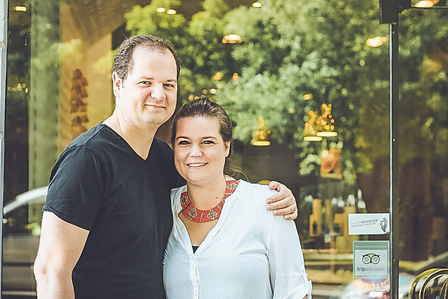 Artisan Gelato Makers Davina and Rony Utz in Munich