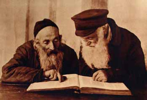 Kac_1924-10-19_Pinsk_jews_reading_mishna