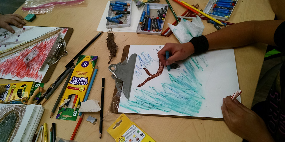 Nature & Art Play: Library Series