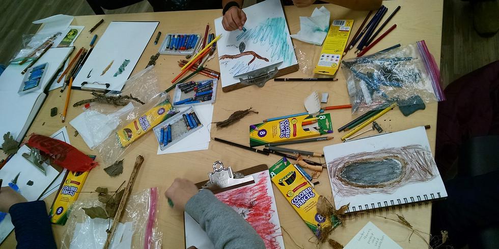Nature Art Journaling Camp