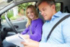 mock driving test