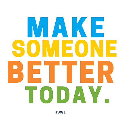 """Make Someone Better Today"" Sticker"