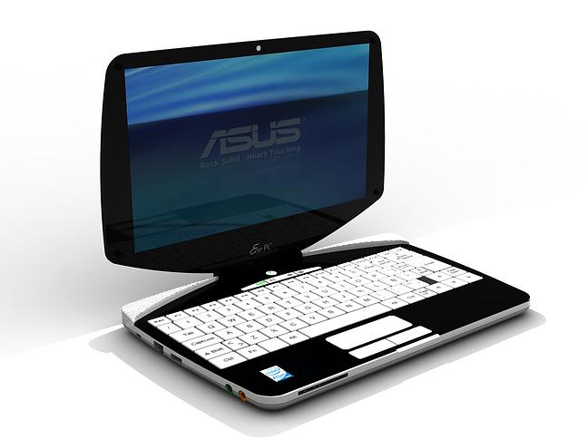 Proycto de Diseño de Notebook par concurso ASUS.