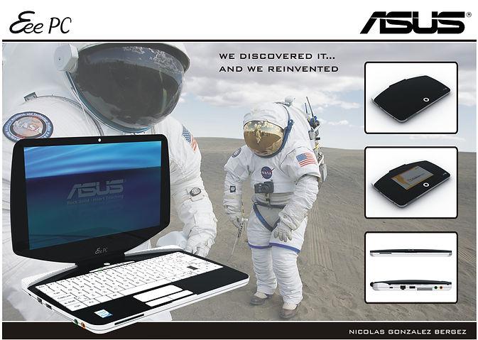 Proyecto de Diseño de Notebook para concurso ASUS.