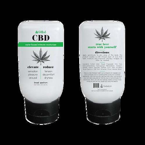 CBD Infused Water-Based Intimate Moisturizer 2 oz