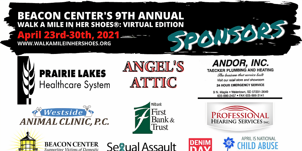 Beacon Center's 9th Annual WALK A MILE IN HER SHOES®: Virtual Edition