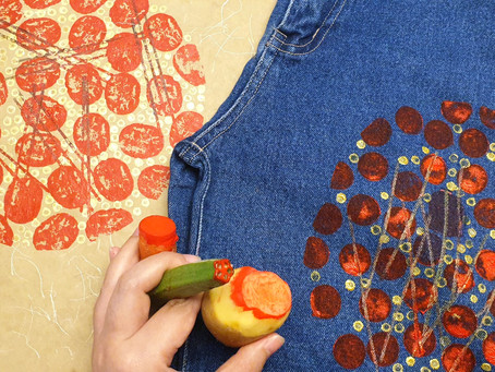 How to use fabric as one of the recycled material [workshop recording]