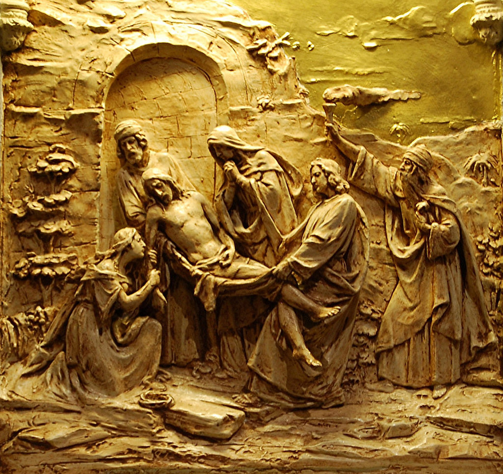 14th Station of the Cross - Jesus is Laid in the Tomb