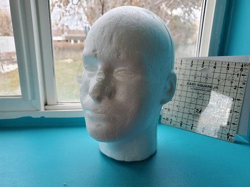 Foam Mannequin Head Male from Joanns