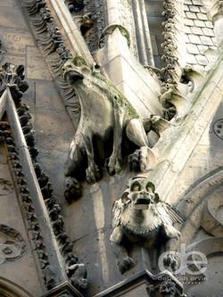 Gargoyles of Sacré Coeur