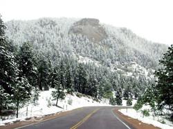 Snowtopped mountains