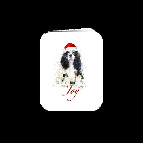 """Tri Cavalier """"Joy"""" holiday greeting card"""