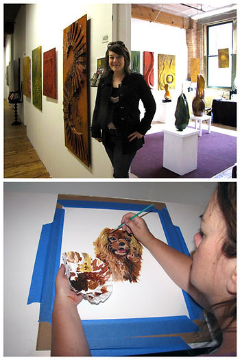 Deborah Ervin, Artist, pet portraits