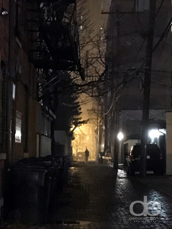 Alley in Lincoln Park