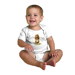 Infant Onesie with custom image