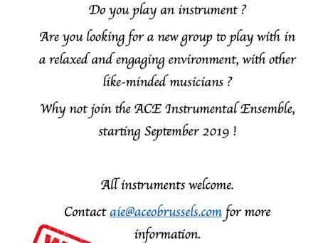 ACE Instrumental Ensemble