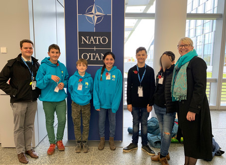 Senior Students at NATO