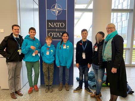 Senior Students at NATO