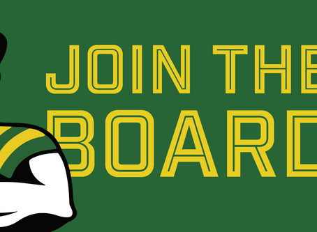 Want To Join the Board?  We're Looking for a Few Good People!