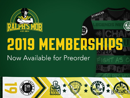 2019 Membership Packages Now Available for Preorder!