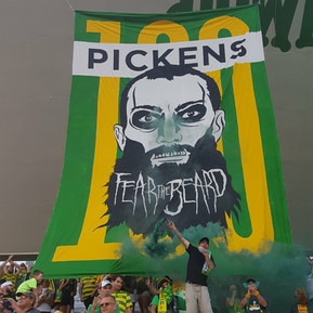 Matt Pickens, 100th Game