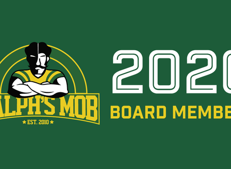 New 2020 Ralph's Mob Board of Directors