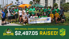 2nd Annual Intra-Supporter Footgolf Tournament raises $2,497.05 for gold together