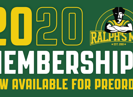 2020 Membership Packages Now Available for Preorder!