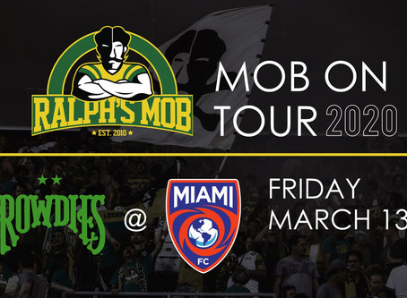 #MobOnTour: Miami FC – Friday, March 13
