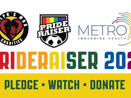 Ralph's Mob Charities announces 2021 Prideraiser campaign!