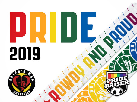 Ralph's Mob Charities Announces 2019 Prideraiser Campaign and Scarf