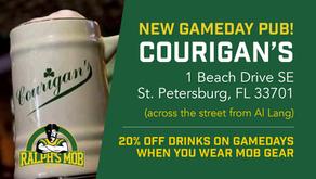 Announcing Courigan's Irish Pub as Our New Gameday Pub!