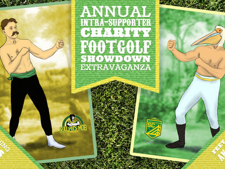 Announcing our 1st Annual Intra-Supporter Charity Footgolf Showdown Extravaganza