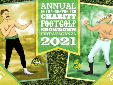 2nd Annual Intra-Supporter Charity Footgolf Showdown Extravaganza Coming April 18th