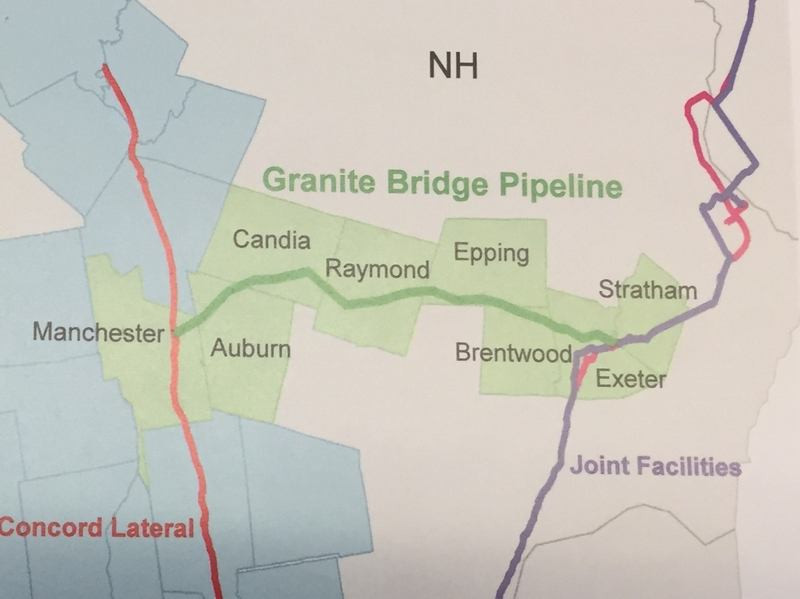 Granite Bridge proposed pipeline map