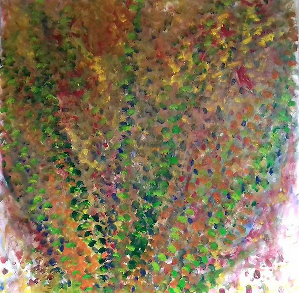 Fratello Anne-Sophie peinture huile Foule carnavalesque