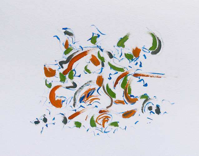 Ecriture intérieure - 50x65cm, 2017