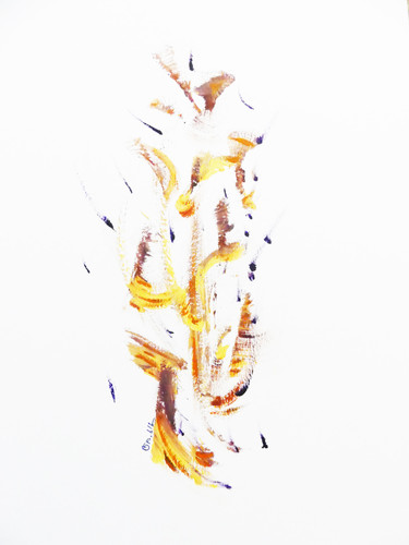 Abstract AMA - 65x50cm, 2020